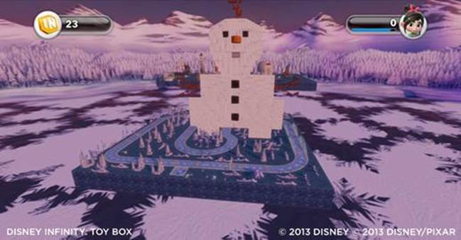 "Disney Infinity Top 5 ""Frozen"" Toy Box Countdown"