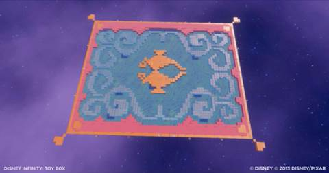 Aladdin Toy Boxes for Disney Infinity