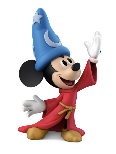Sorcerer's Apprentice Mickey Figure for Disney Infinity