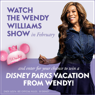 Win a trip to Walt Disney World for 4 from The Wendy Williams Show!