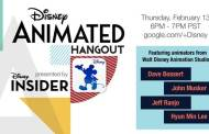 Watch Disney Animated Hangout Live Online Tomorrow 2/13 at 6pm PST