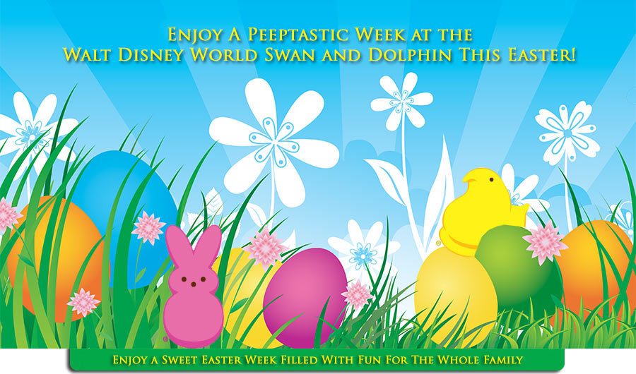 Week full of EGG-tra activites for Easter week at the Swan and Dolphin
