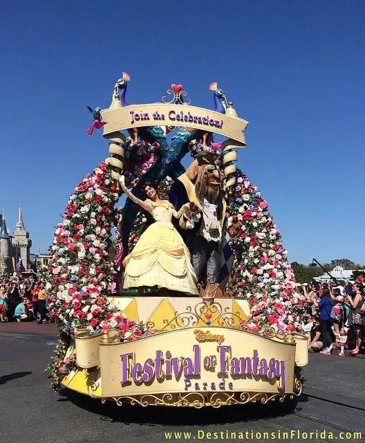 Festival of Fantasy New Parade at Magic Kingdom Video