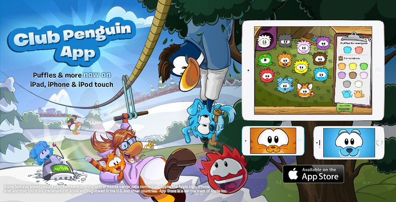Disney's Club Penguin is Now Available to Play on iPhone and iPod Touch