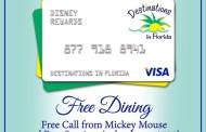 Disney's Free Dining and Room Only Discounts are still available.