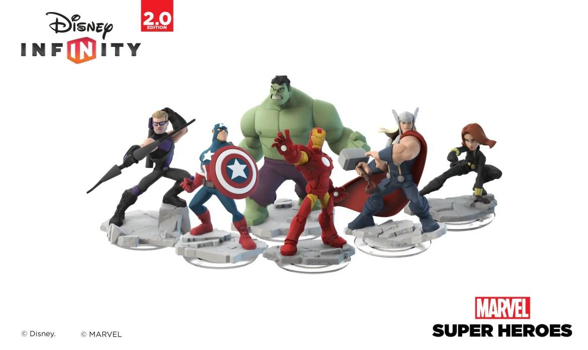 Disney Infinity 2.0 Welcomes Marvel Super Heroes