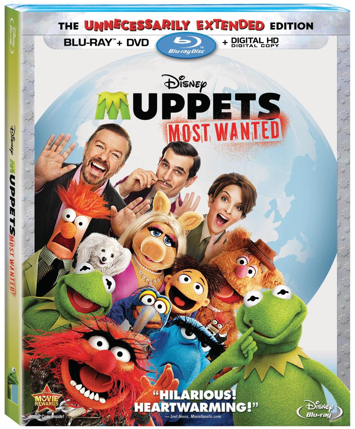 "Disney's ""Muppets Most Wanted"" Available On Blu-Ray And DVD August 12th"