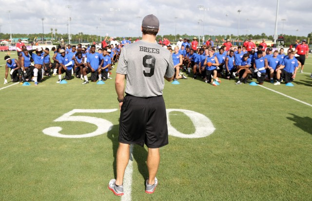 Disney and NFL Stars Give High School Players a Chance to Shine at ESPN Wide World Of Sports Complex