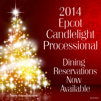 2014 Candlelight Processional Packages Now on Sale