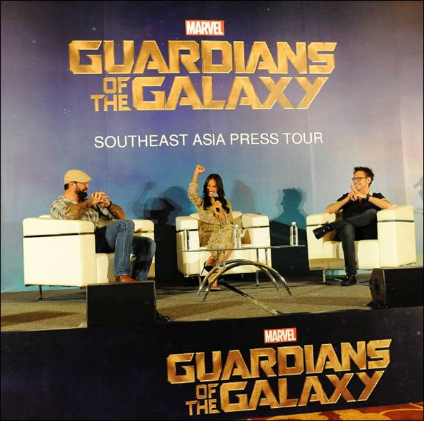 MARVEL'S GUARDIANS OF THE GALAXY Singapore Press Tour Pictures
