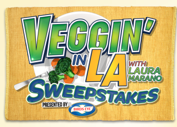Birds Eye Vegetables Teams Up with Disney  and Laura Marano to Launch Veggin in L.A. Sweepstakes
