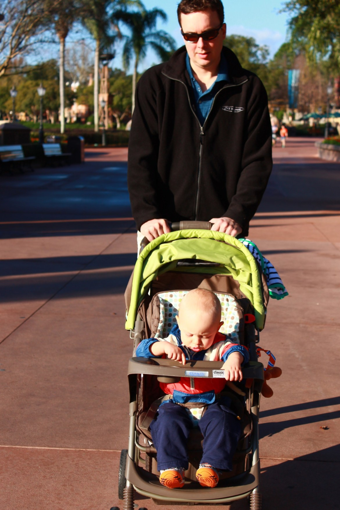 Disney Quick Tip: Keep Your Stroller Dry on your Disney Vacation