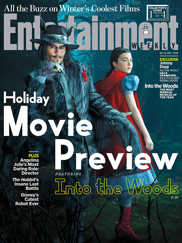 Entertainment Weekly Takes a Closer Look at 'Into the Woods'