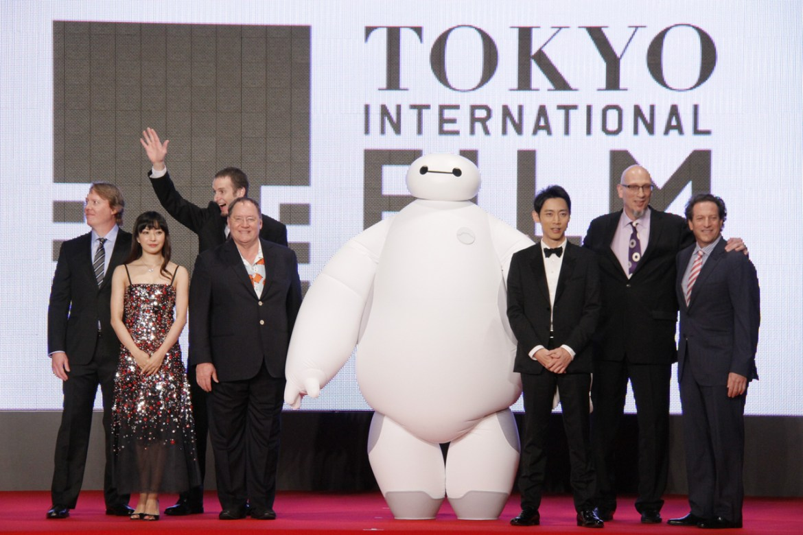 BIG HERO 6 World Premiere at the Tokyo International Film Festival