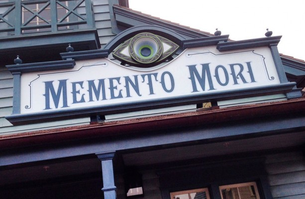 Magic Kingdom's Memento Mori Shop Now Open outside of the Haunted Mansion