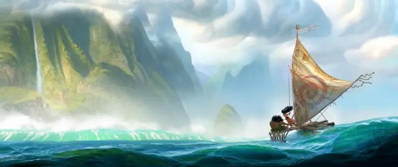 "Disney Animation Studios ready to set sail with the new movie ""Moana"" in 2016"