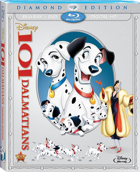 Disney's 101 Dalmatians on DVD and Blu Ray