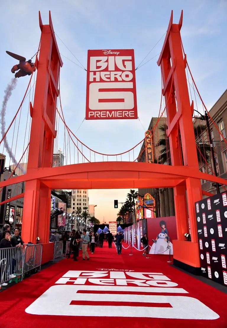 Disney's Big Hero 6 Movie Premiere Red Carpet Event