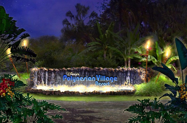 New Additions to the New Polynesian Village Resort