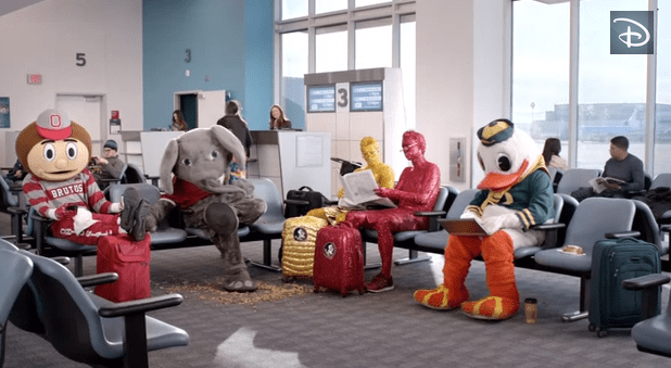 """I'm Going to Disney World"" College Football Team Mascot Edition"