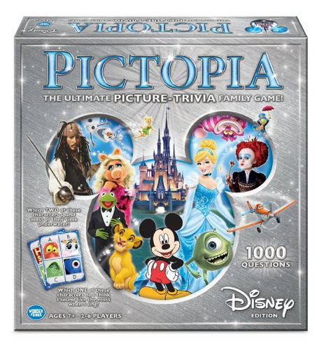 Disney Finds – Pictopia Family Trivia Game: Disney Edition