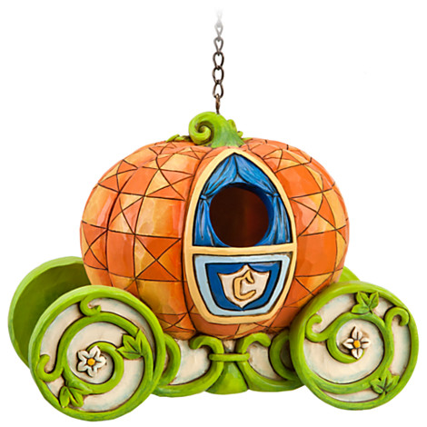 Disney Finds – Pumpkin Coach Cinderella Birdhouse by Jim Shore