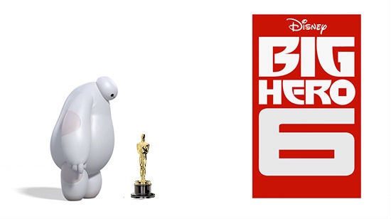 Big Hero 6 moves into first place