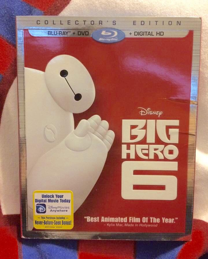 Big Hero 6 DVD, Blu-ray Review