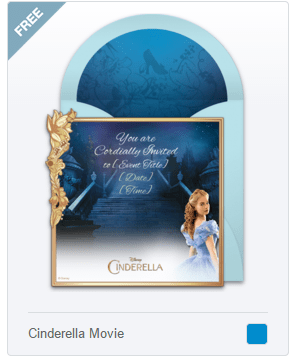 Punchbowl Unveils Online Invitations for the Upcoming Cinderella Live Action Movie
