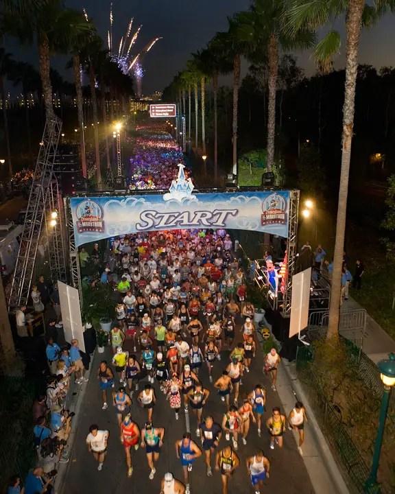 Disney's Wine & Dine Marathon Schedule of Events