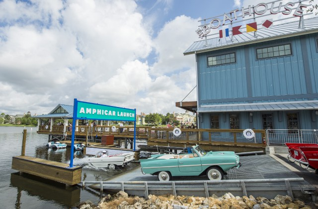 The BOATHOUSE Makes a Splash at Disney Springs in Walt Disney World Resort