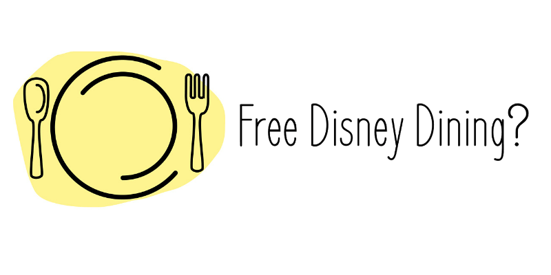 Disney Free Dining is coming?