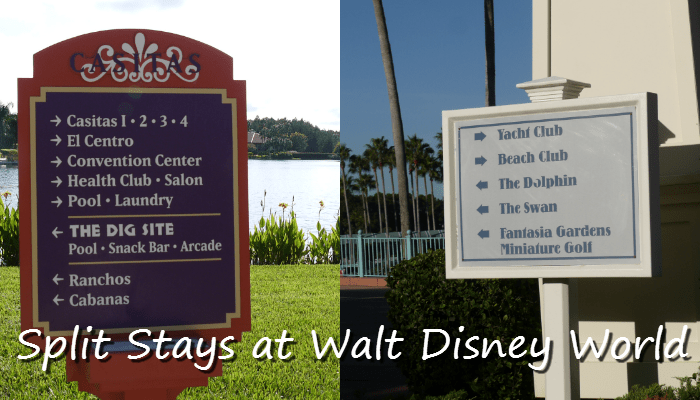 Split Stays at Walt Disney World