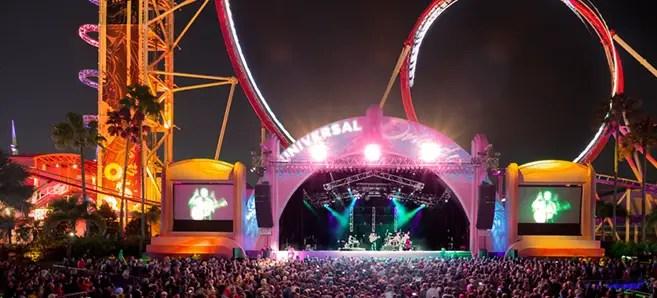 Universal Orlando's 25th Anniversary Concert Series Nov 14 – Nov 28th