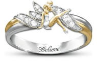 Disney Finds - Tinker Bell Embrace the Magic Ring
