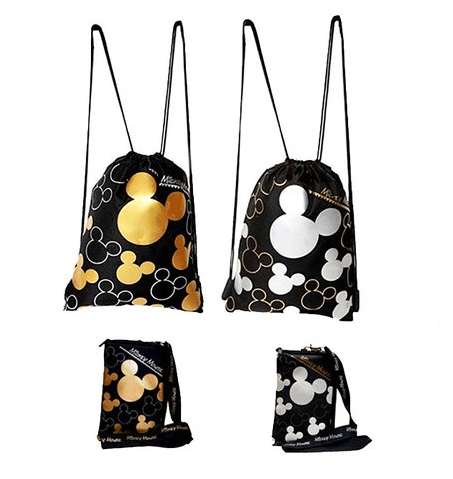 Disney Finds – Mickey Mouse Drawstrings Backpacks & Lanyards