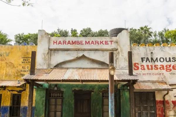 Harambe Market at Disney's Animal Kingdom is now open