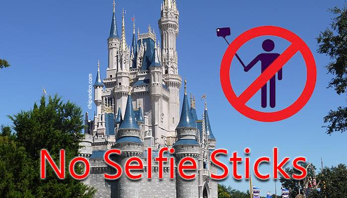 Disneyland Paris Banning Selfie Sticks