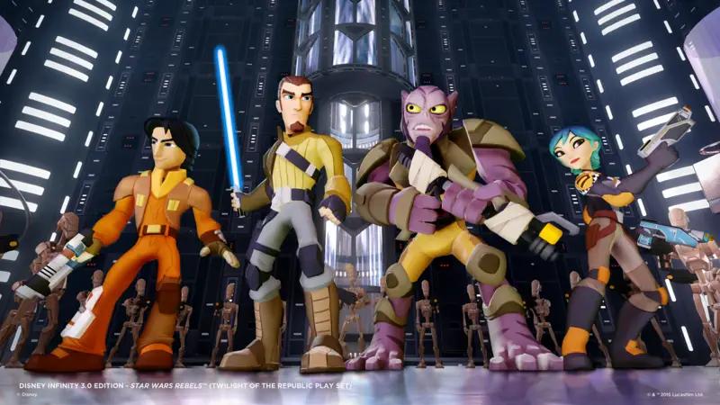 Star Wars Rebels Characters Joins Disney Infinity 3.0