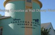 Buying Groceries at Walt Disney World