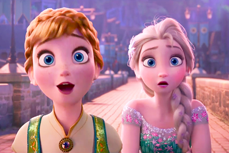 """""""Frozen"""" Sisters Anna and Elsa Have a Little Brother"""
