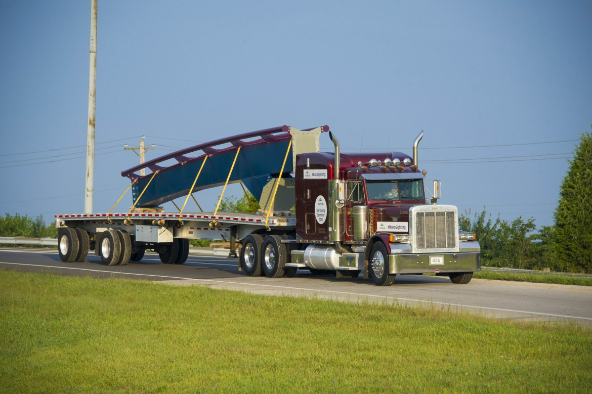 """Keep an Eye out for SeaWorld Orlando's Newest Roller Coaster """"Mako"""" on the Highway"""