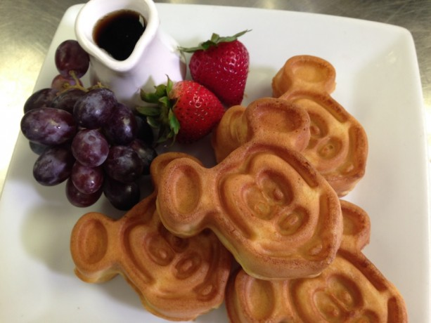 Celebrate National Waffle Day with a Mickey Waffle