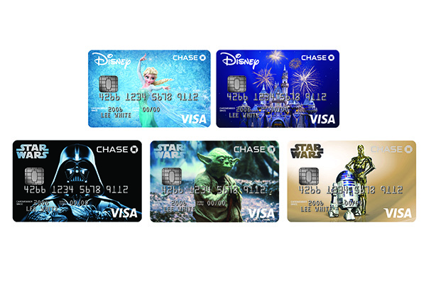 New Chase Disney Visa Credit Cards Will Offer Star Wars Designs
