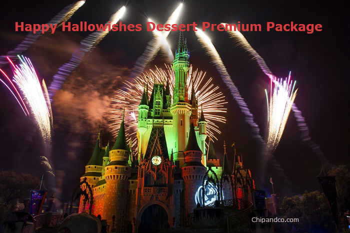 Happy HalloWishes Dessert Premium Package Available for Booking