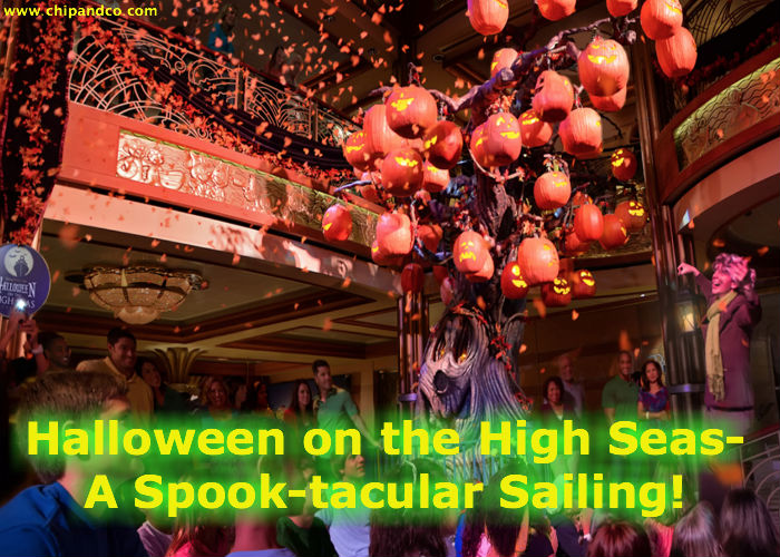Halloween on the High Seas – A Spooky Good Time Aboard the Disney Cruise Line!