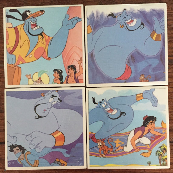 Disney Finds – Handmade Disney Coasters