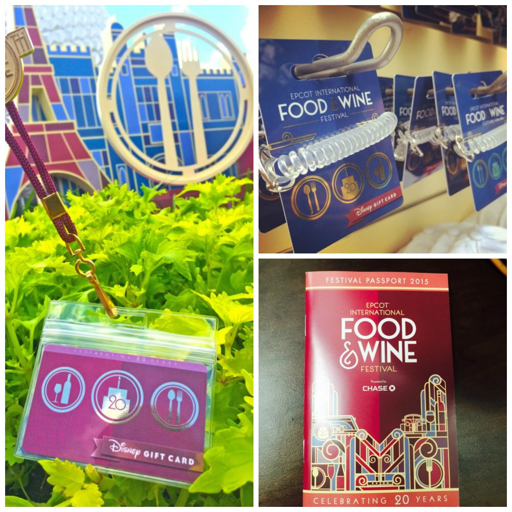 Returning this year New Wearable Disney Gift Card Design for the Epcot Food & Wine Festival