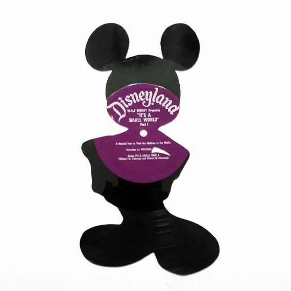 Disney Finds – Handmade Disney Vinyl Record Cutouts