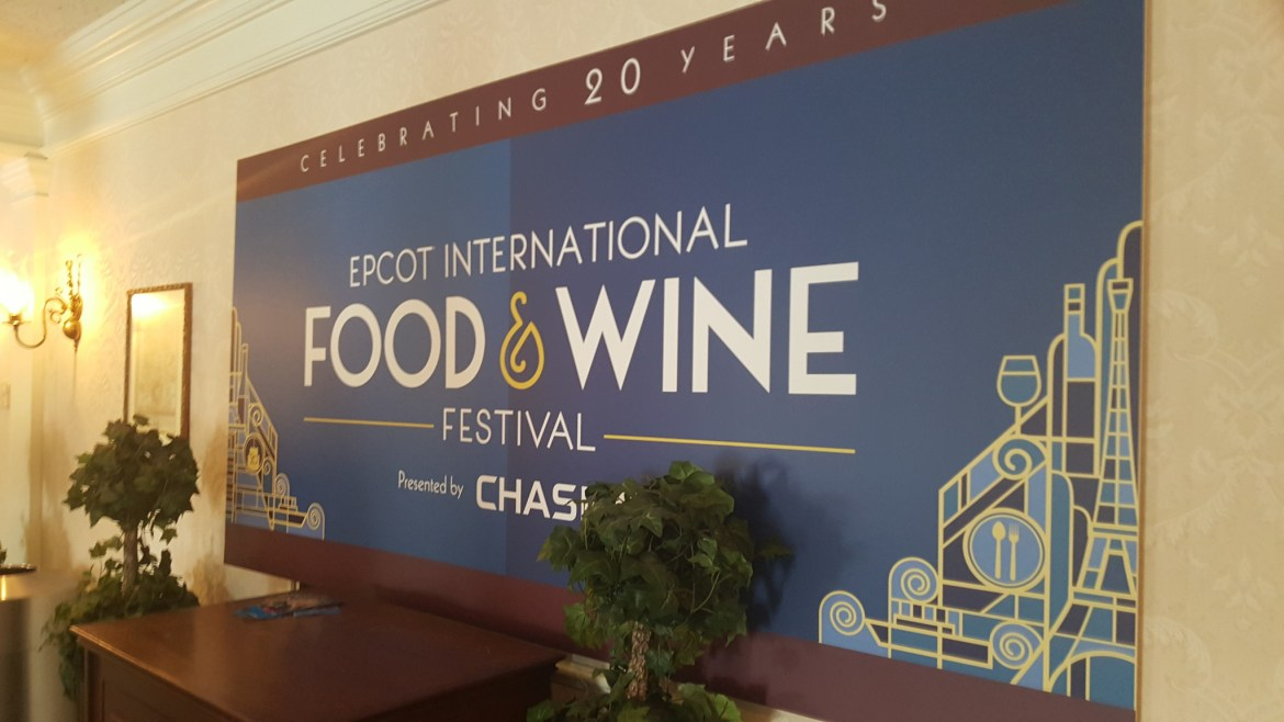 Don't miss these special amenities for Chase Card Members at the Food & Wine Festival
